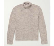 Wool-Blend Rollneck Sweater