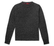 Donegal Cashmere-Blend Sweater