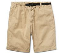 Slim-fit Cotton-canvas Shorts