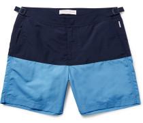 Bulldog Mid-length Two-tone Swim Shorts