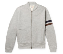 + Todd Snyder + Champion Harry's Fleece-back Cotton-blend Jersey Zip-up Sweatshirt