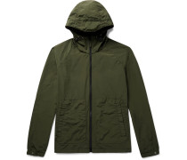 Garment-dyed Shell Hooded Jacket