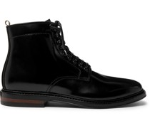 Hopkins Cordovan Leather Boots