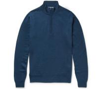 Tapton Merino Wool Half-zip Sweater