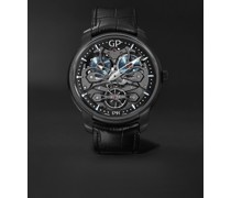 Neo Bridges Earth to Sky Automatic 45mm Titanium and Alligator Watch, Ref. No. 84000-21-632-BH6A