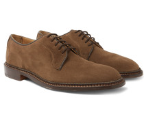 Robert Suede Derby Shoes