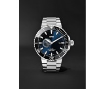 Aquis Small Second Date Automatic 45.5mm Stainless Steel Watch, Ref. No. 01 743 7733 4135-07 8 24 05PEB