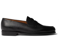 Lopez Full-Grain Leather Penny Loafers