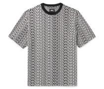 Cotton-Jacquard T-Shirt