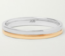 Duo Sterling Silver and Gold Vermeil Ring