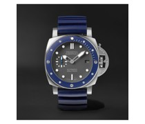 Submersible Automatic 42mm Stainless Steel and Rubber Watch