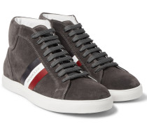 La Montecarlo Suede High-top Sneakers