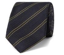 + Drake's 8cm Striped Silk Tie