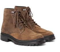 Thibald Intrecciato Suede Boots
