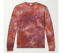 Alagna Tie-Dyed Cashmere Sweater