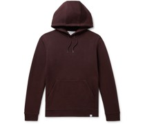 Vagn Loopback Cotton-Jersey Hoodie