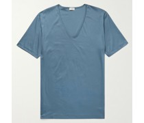 Slim-Fit Sea Island Cotton-Jersey T-Shirt