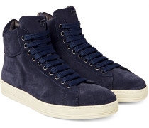 Russel Suede High-top Sneakers