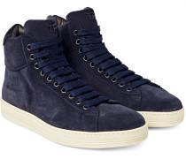 Russel Suede High-top Sneakers