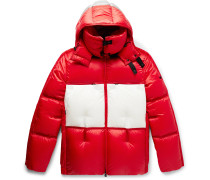 5 Moncler Craig Green Coolidge Colour-Block Quilted Shell Hooded Down Jacket