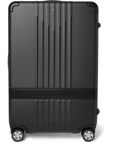 #MY4810 Medium 61cm Leather-Trimmed Polycarbonate Suitcase