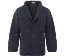 Unstructured Flecked Merino Wool and Cashmere-Blend Blazer