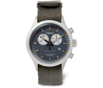 Archive Waterbury Stainless Steel And Webbing Watch