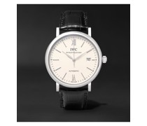 Portofino Automatic 40mm Stainless Steel and Alligator Watch, Ref. No. IW356501