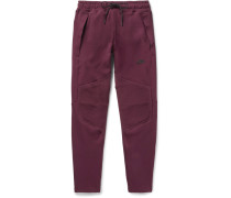 Slim-fit Tapered Cotton-blend Tech Fleece Sweatpants