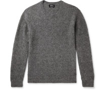 Diego Mélange Wool-Blend Sweater
