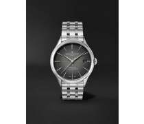 Clifton Baumatic Automatic Chronometer 40mm Stainless Steel Watch, Ref. No. M0A10551