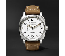 Radiomir 1940 3 Days Automatic Acciaio 42mm Stainless Steel And Leather Watch