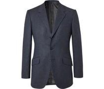 Conrad Slim-Fit Mélange Wool Suit Jacket