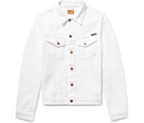 Billy Slim-fit Distressed Denim Jacket