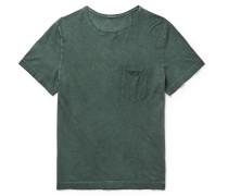 Panarea Slim-fit Garment-dyed Cotton-jersey T-shirt