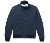 Cotton And Nylon-blend Blouson Jacket