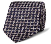 8.5cm Mulberry Silk-jacquard Tie