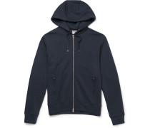 Johna Cotton-blend Jersey Zip-up Hoodie
