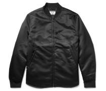 Mylon Nylon Bomber Jacket