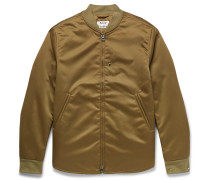 Mylon Matt Satin Bomber Jacket