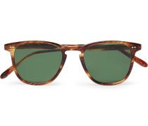 Brooks 47 Square-Frame Tortoiseshell Acetate Sunglasses