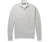 Roadster Cashmere Half-zip Sweater