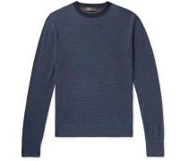 Silk and Linen-Blend Sweater