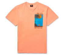 Eventide Printed Cotton-jersey T-shirt