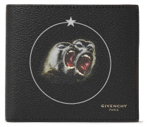 Monkey Brothers Printed Faux Leather Billfold Wallet