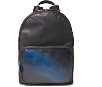 Time Off Leather Backpack