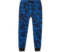 Slim-fit Tapered Camouflage-print Tech Fleece Sweatpants