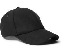 Brushed Melton Wool Baseball Cap