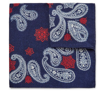 Printed Wool-twill Pocket Square