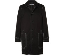 Contrast-stitched Cotton-drill Jacket